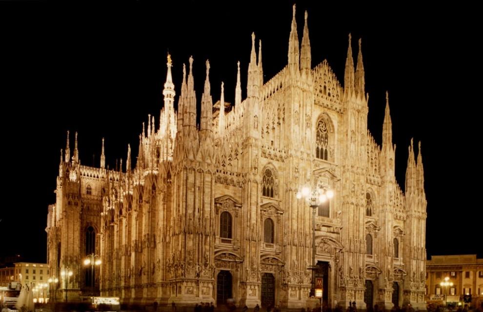 Illuminazione Duomo di Milano