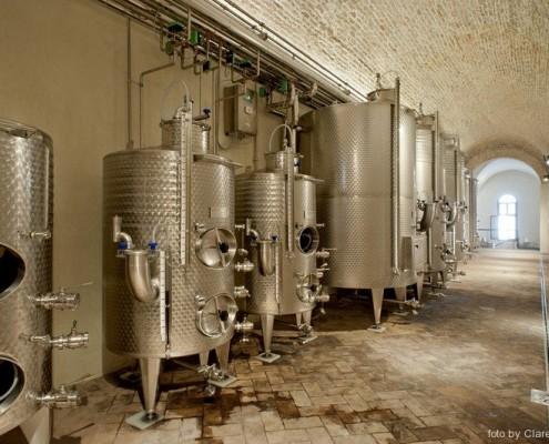 Illuminazione cantina vinicoa Praglia